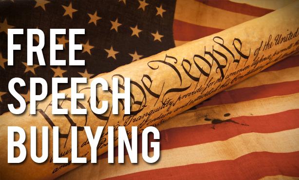 free speech bullying